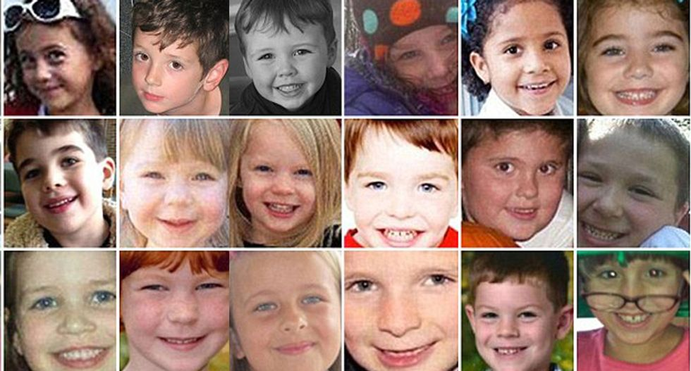Three years ago all of these kids were slaughtered -- and America decided to look the other way