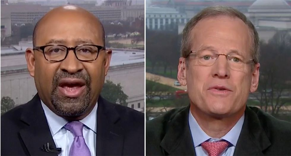 Ex-Philly mayor takes Jack Kingston to the woodshed over claim Trump White House chaos is perfectly normal