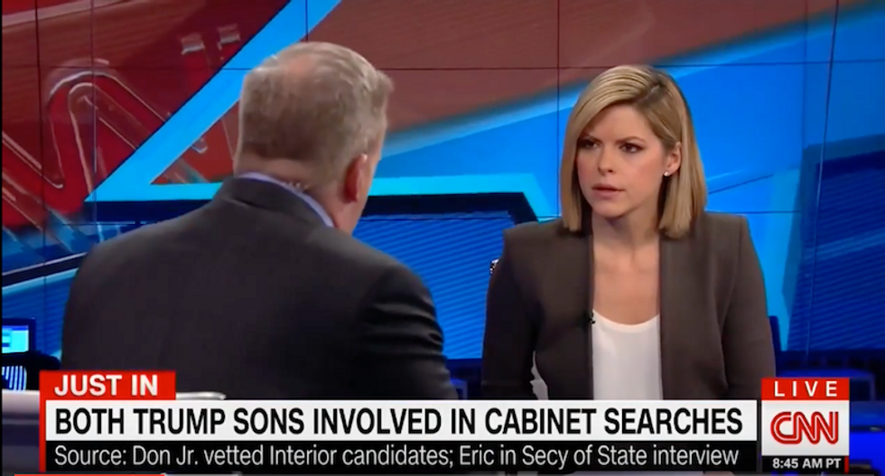 CNN host grills RNC spokesman over conflicts of interest: Trump Tower cameras aren't 'transparency'
