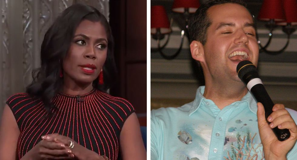 'Big Brother' contestant calls out Omarosa after she tells Colbert she's worried about Dreamers -- not Trump