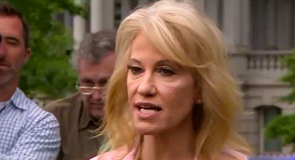 Trump considering Kellyanne Conway as his next chief of staff after Mick Mulvaney's quid pro quo disaster: Bloomberg