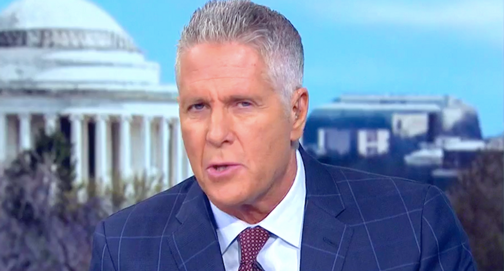 MSNBC's Donny Deutsch warns 'cornered' Trump will destroy the world with nukes to 'save his own hide'