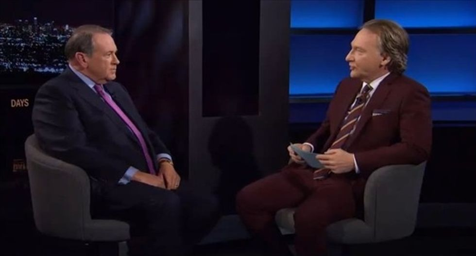 Bill Maher dismantles Mike Huckabee's platform: 'This country is not Bubbaville anymore'