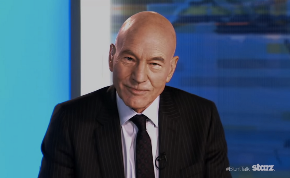 WATCH: Patrick Stewart's new comedy series looks like brutal, hilarious O'Reilly takedown