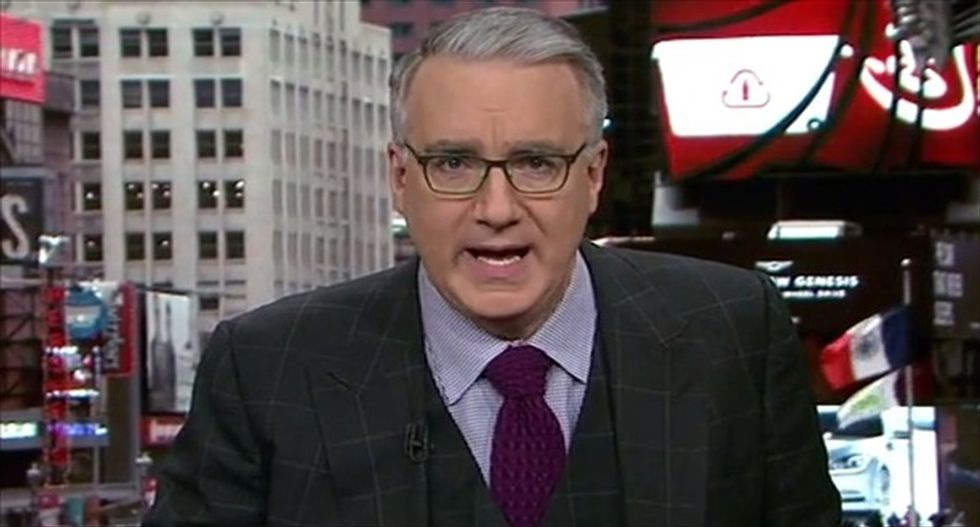 Keith Olbermann: The Electoral College was created to 'weed out creatures and foreign stooges' like Trump
