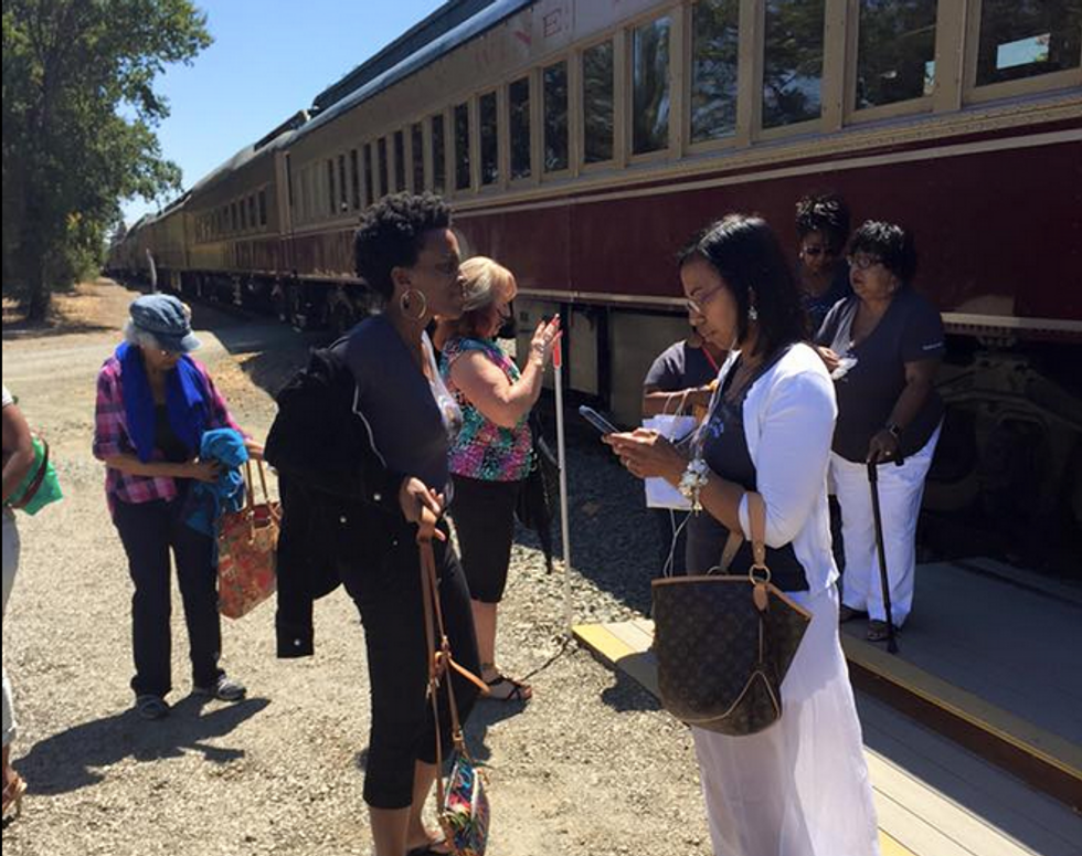 Group of black women 'humiliated' and kicked off Napa wine train for 'laughing too loud'