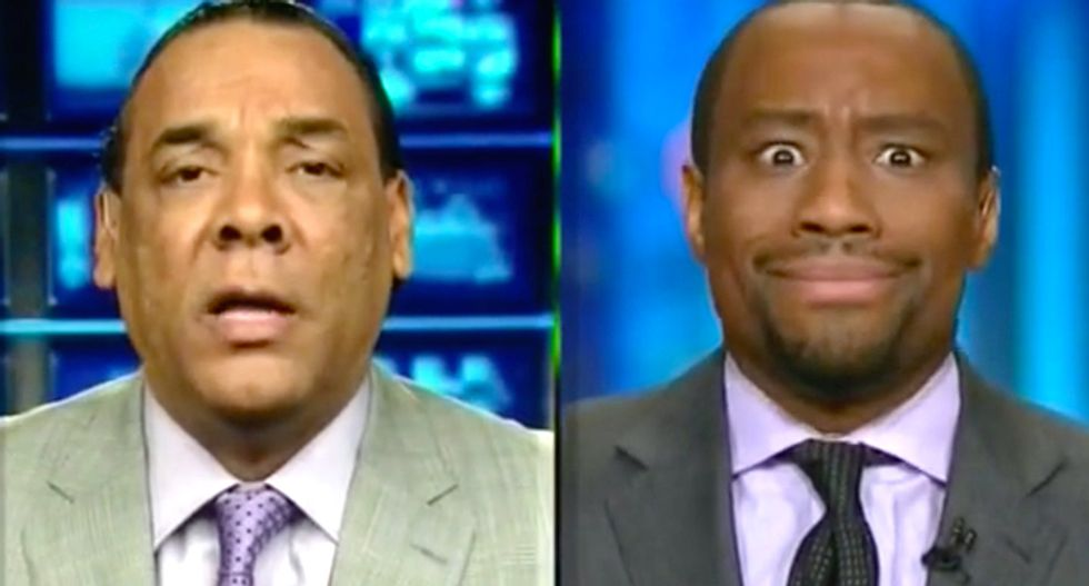 CNN panel goes off the rails when Marc Lamont Hill slams Trump apologist as 'mediocre Negro'