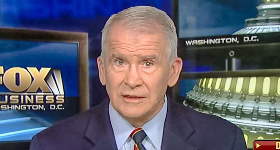 National Rifle Association's 'toxic legal fight' escalates — the NRA subpoenaed ex-president Oliver North: report
