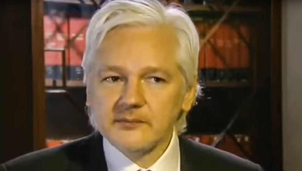 Julian Assange fathered 2 babies with one of his lawyers -- while holed up in Ecuador's embassy in London: report