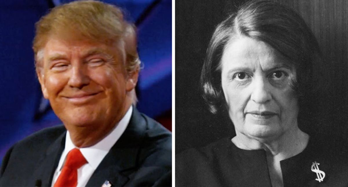 The GOP's Ayn Rand death cult: Trump's party is literally killing the American people