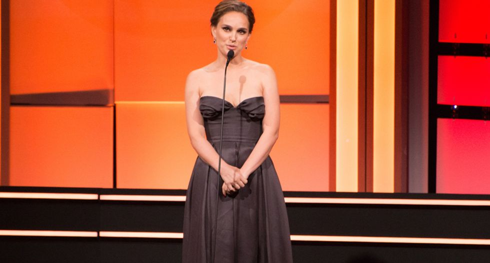 Natalie Portman says backed out of prize over Netanyahu
