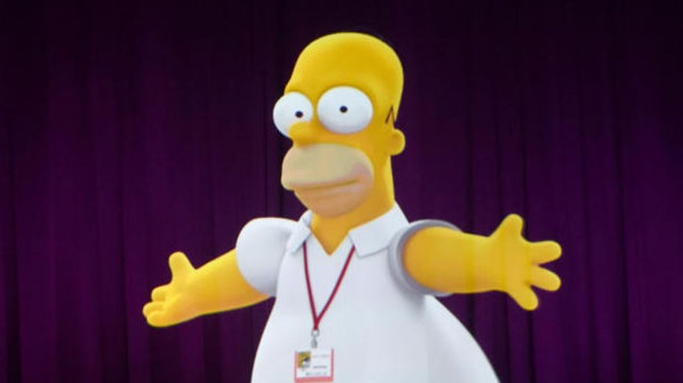 Canada's prime minister quietly distances himself from Homer Simpson