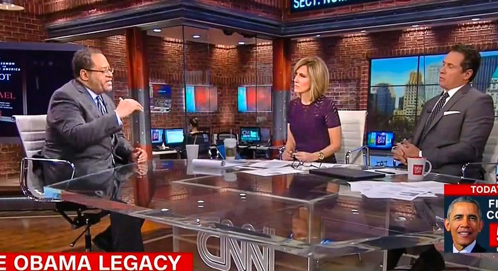 'You're answering your own question': Michael Eric Dyson shuts down CNN host for downplaying racism