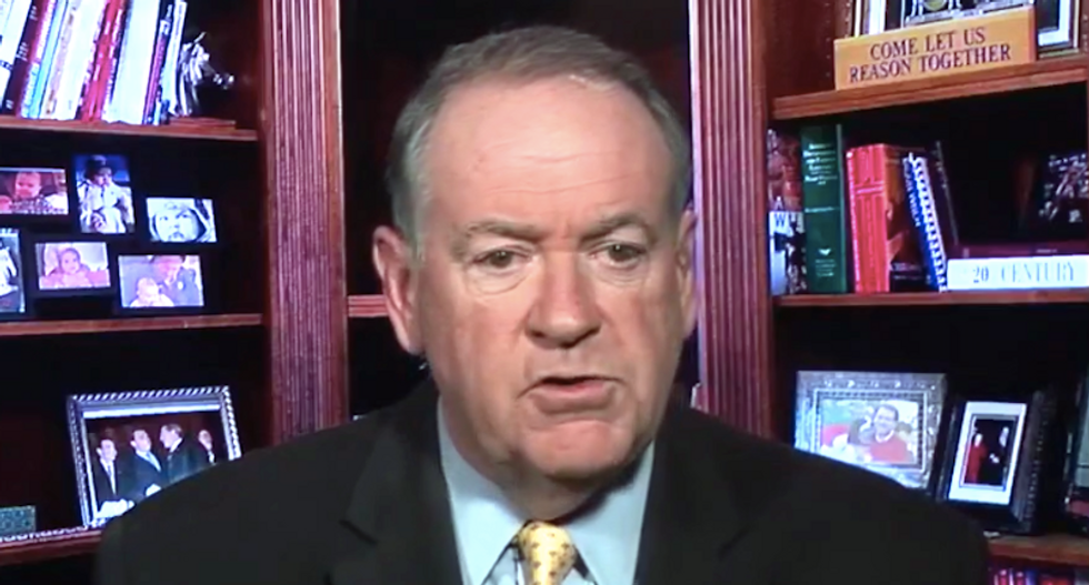 Mike Huckabee claims Donald Trump never encouraged violence -- and Democrats are the violent ones