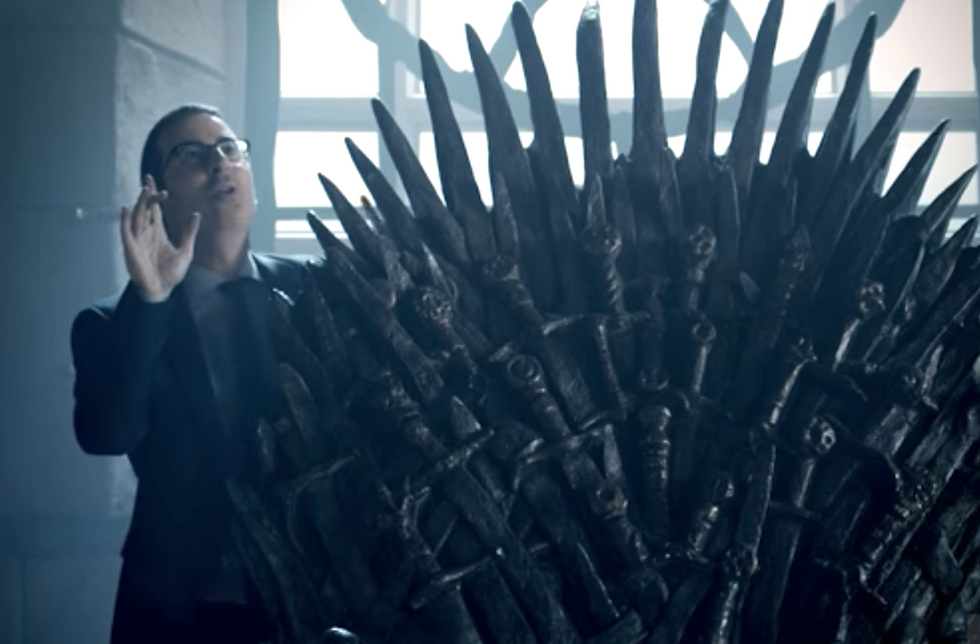 WATCH: John Oliver sends up 'Game of Thrones' in hilarious Season 4 promo