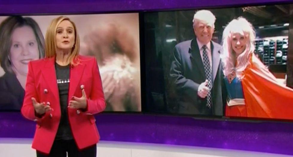 Samantha Bee hammers Trump's 'omnipresent spokes-cobra' Kellyanne Conway