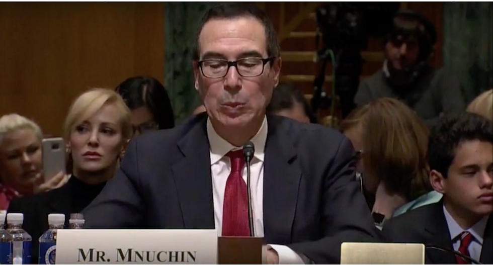 Mnuchin denies selling movie company to oligarch-linked investor — but still won't identify the buyer
