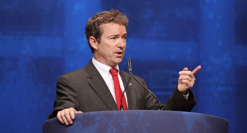 Is there a method to Rand Paul's temper tantrums?