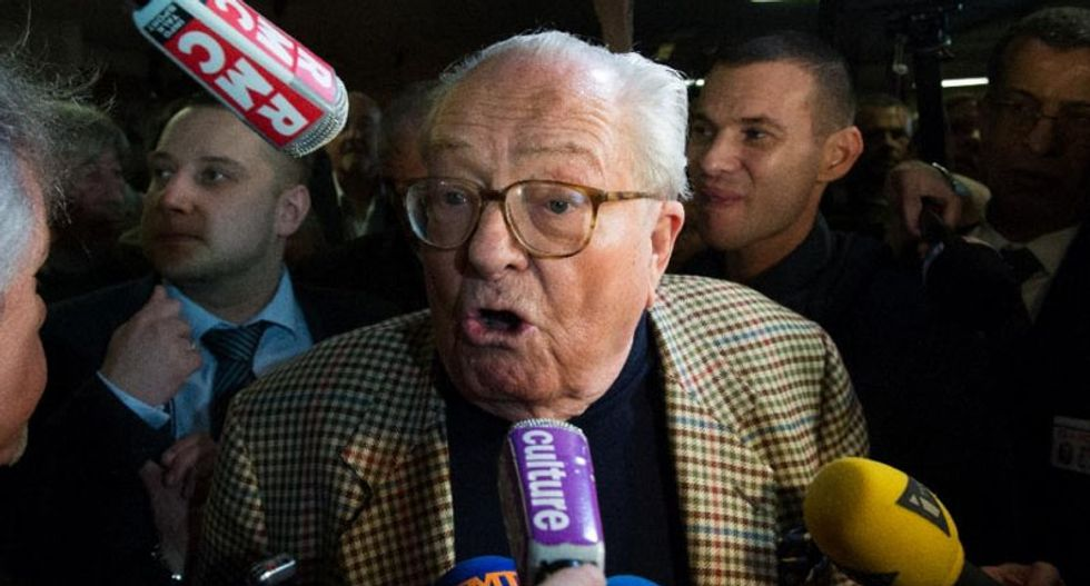 France's far-right family feud: Jean-Marie Le Pen slams daughter for 'blowing up' the National Front party