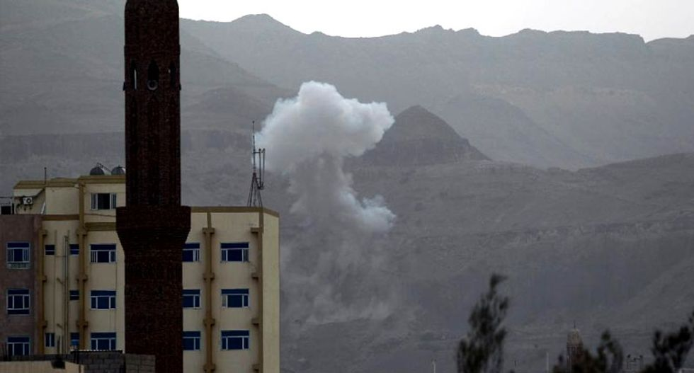 US sends carrier to Yemen waters with eye on Iran convoy