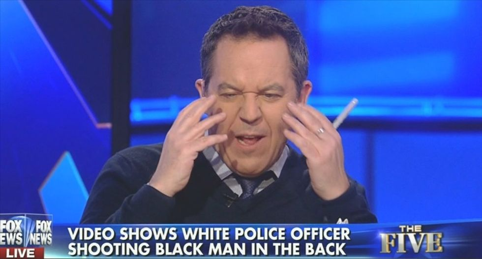Fox host won't believe his lying eyes: 'I didn't see a black man killed by a white cop'
