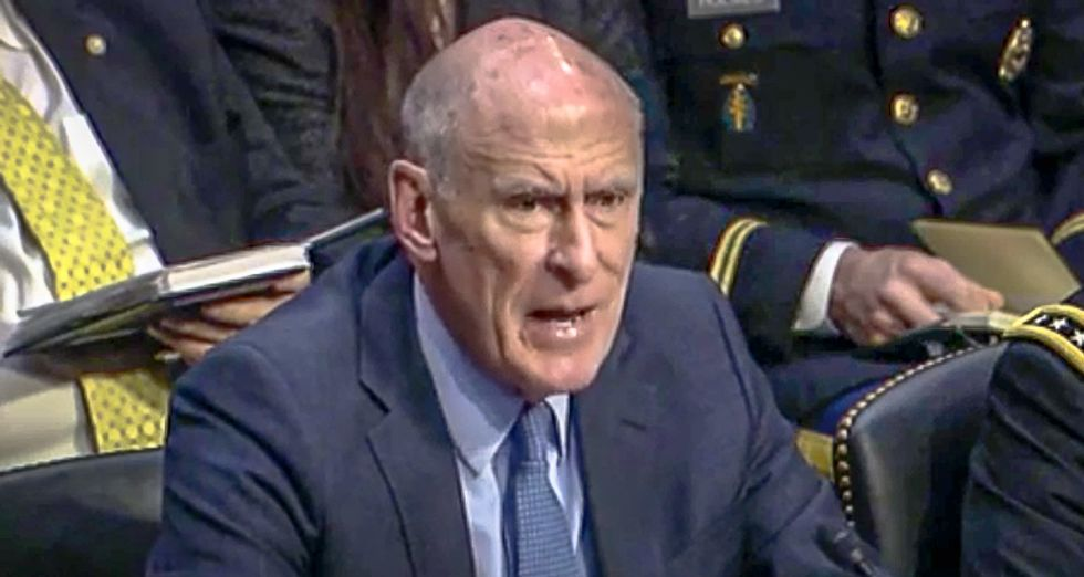 Former Trump Intel chief warns American democracy is threatened by 'sinister conspiracies' to undermine election
