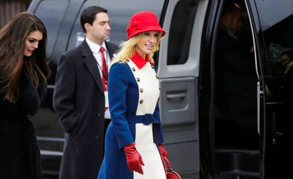 'Act now we'll throw in free executive order!': Internet roasts Kellyanne Conway shilling for Ivanka