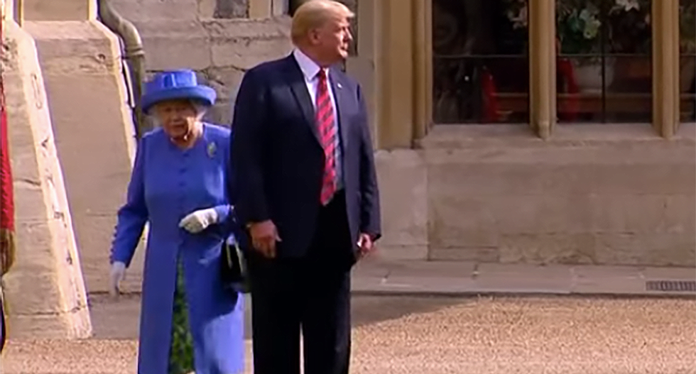 Internet ridicules Trump for sounding jealous about the British Queen's lack of scandals