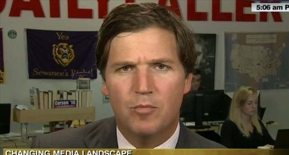 Tucker Carlson can't understand why people think he's a misogynist over 'mean email to this chick'