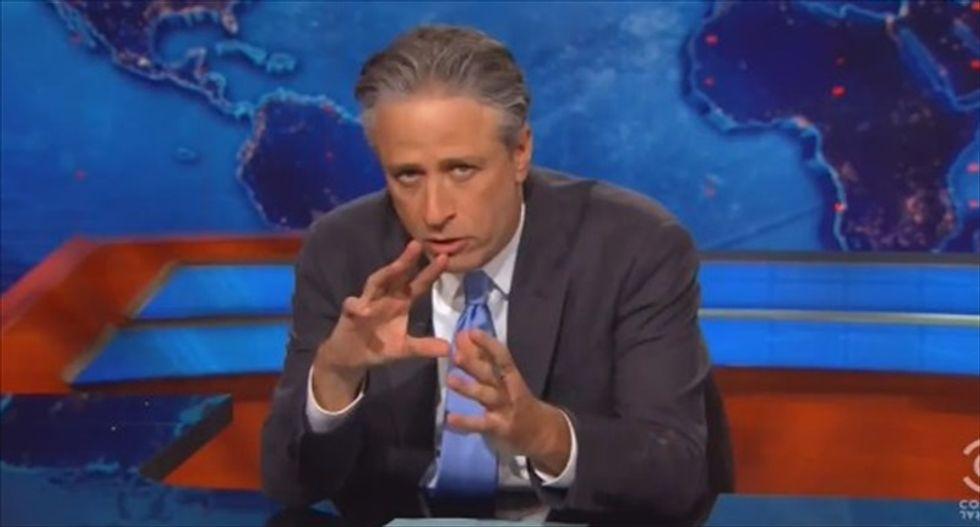 Jon Stewart slams KS Gov. Sam Brownback: 'See how you like being treated like the welfare queens you are'