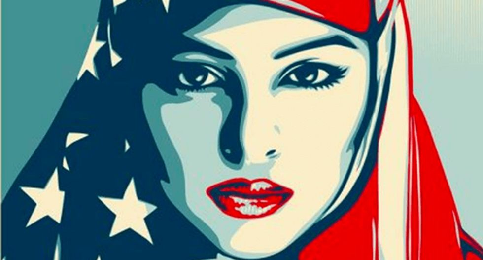 Shepard Fairey's inauguration posters may define political art in Trump era