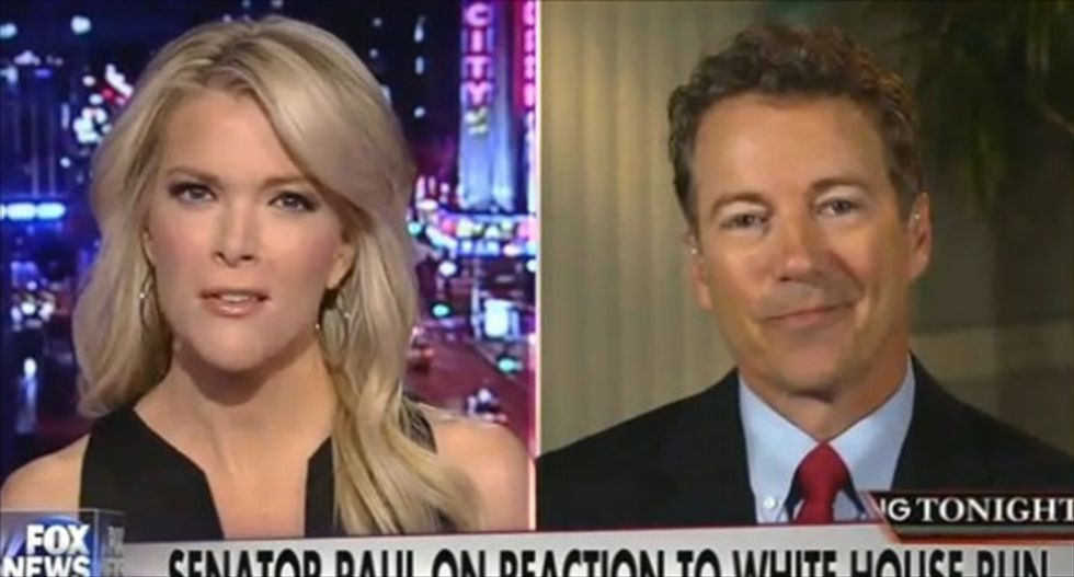 Megyn Kelly pushes Rand Paul: If you think interviews are hostile, 'you're gonna get pounded' in debates