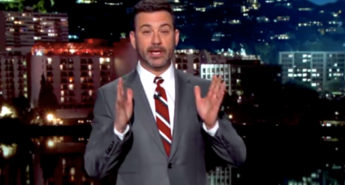 'We want to know what you're sniffing': Jimmy Kimmel demands stupidity and drug test for Donald Trump Jr.