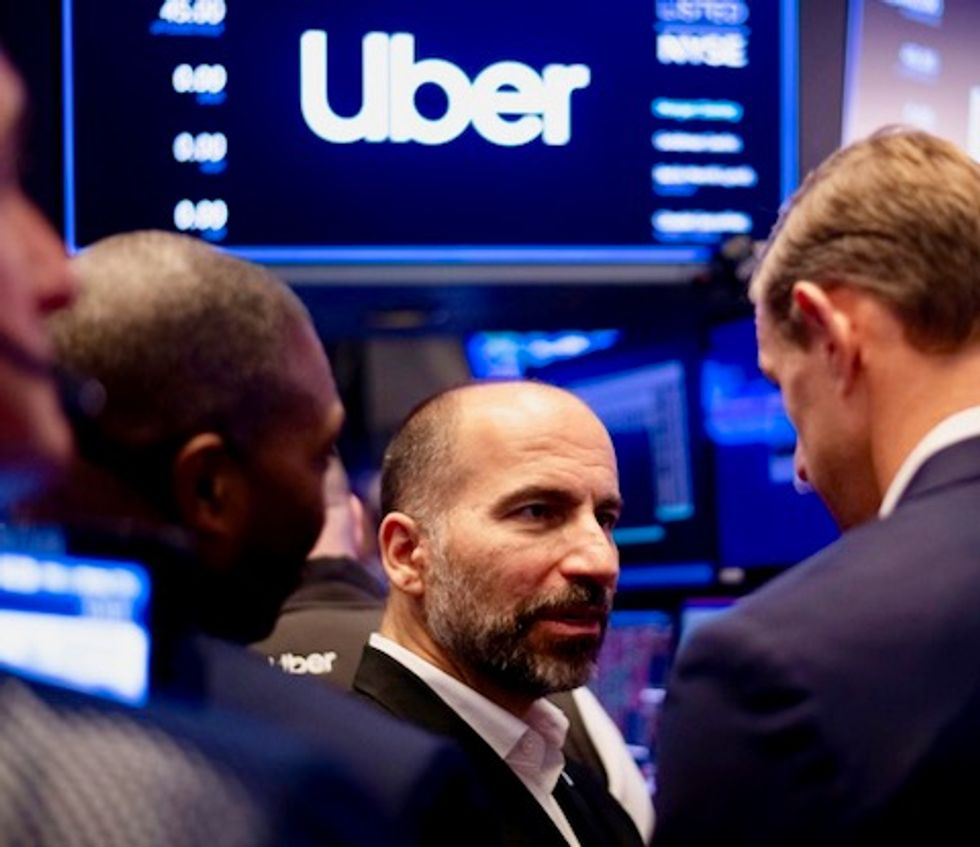 Uber shifts into reverse in disappointing Wall Street debut
