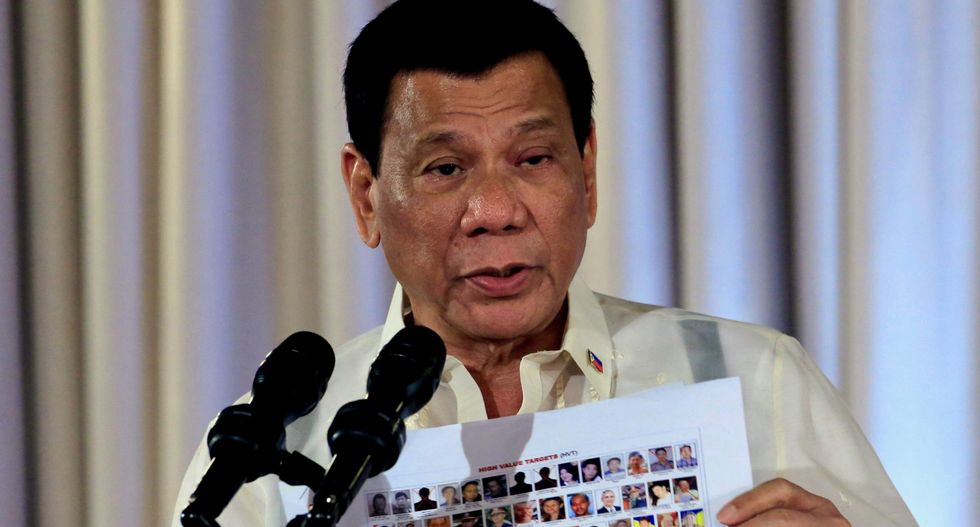 'You shoot them': Trump-backed Philippines president says he will order police to kill human rights activists