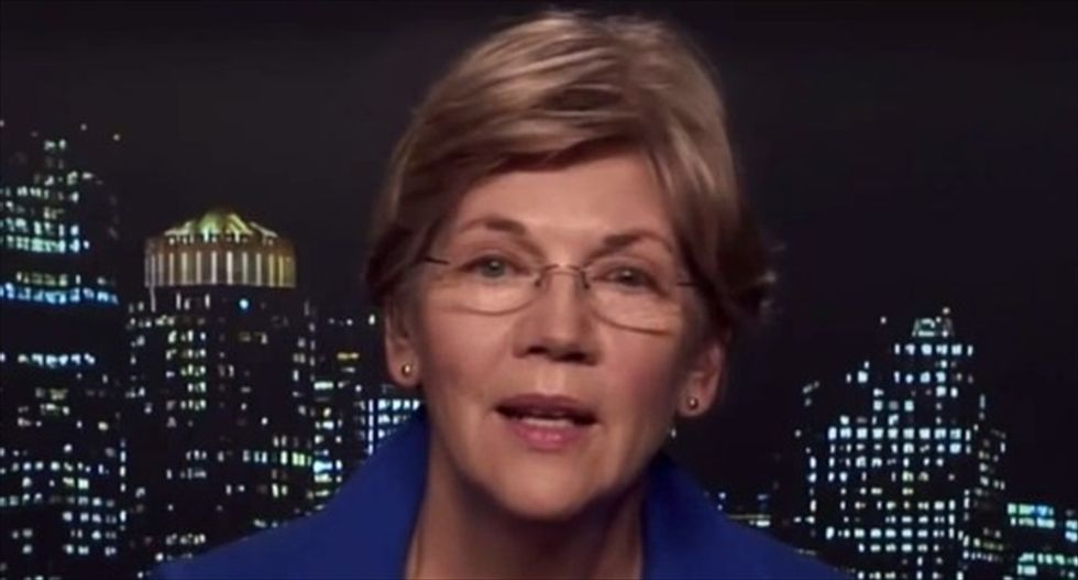 Bill Maher tries to talk Elizabeth Warren into running for president with $1 million donation offer