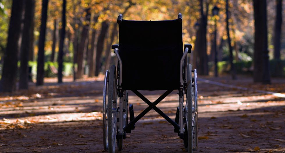 Philadelphia woman taken into custody for abandoning quadriplegic son in a park for nearly a week