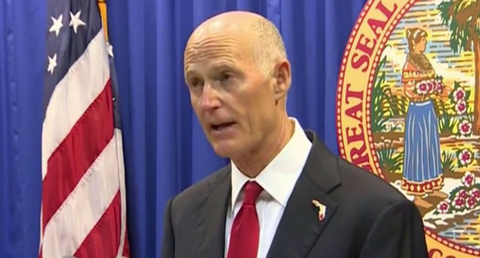 Rick Scott overwhelmingly restored voting rights to white Republican felons — after restricting black felons
