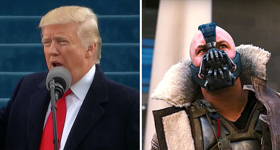 Internet rips Trump speech over 'Batman' villain quote: 'At least Bane stood up to Wall Street'