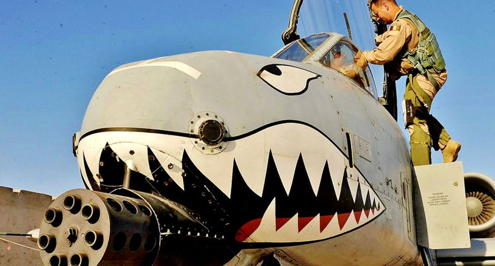 Air Force general reprimanded over A-10 'treason' remark