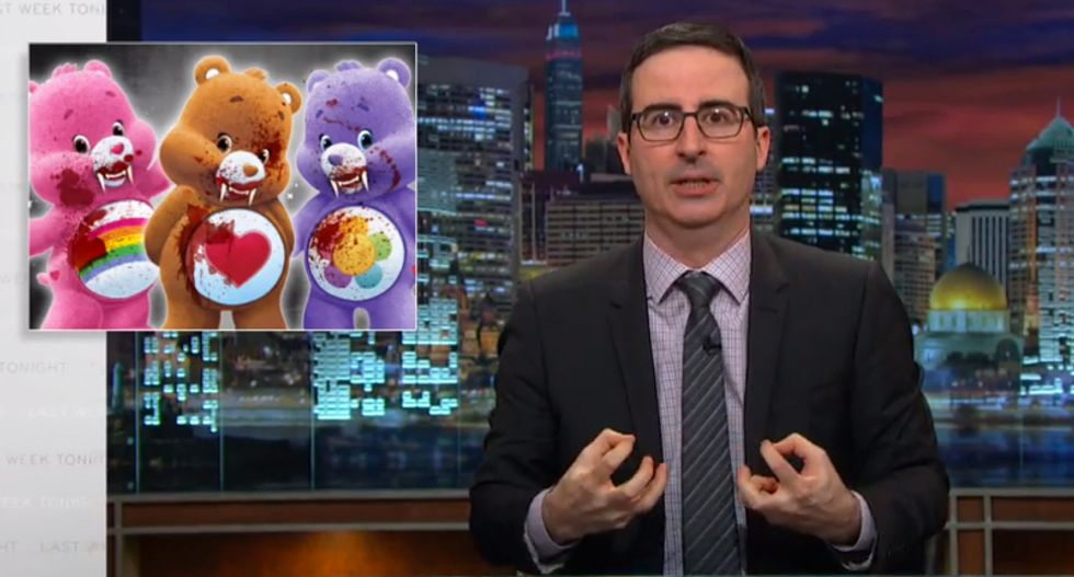 John Oliver defends the IRS as the 'anus of our country' — unpleasant but necessary