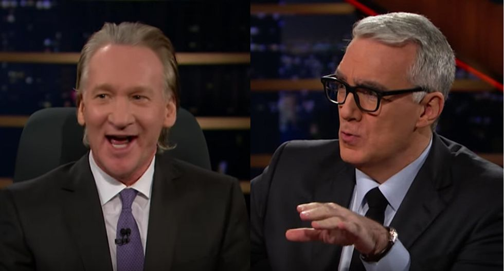 Maher and Olbermann rip press for Trump election coverage: They 'f*cked up' and 'look what we got'