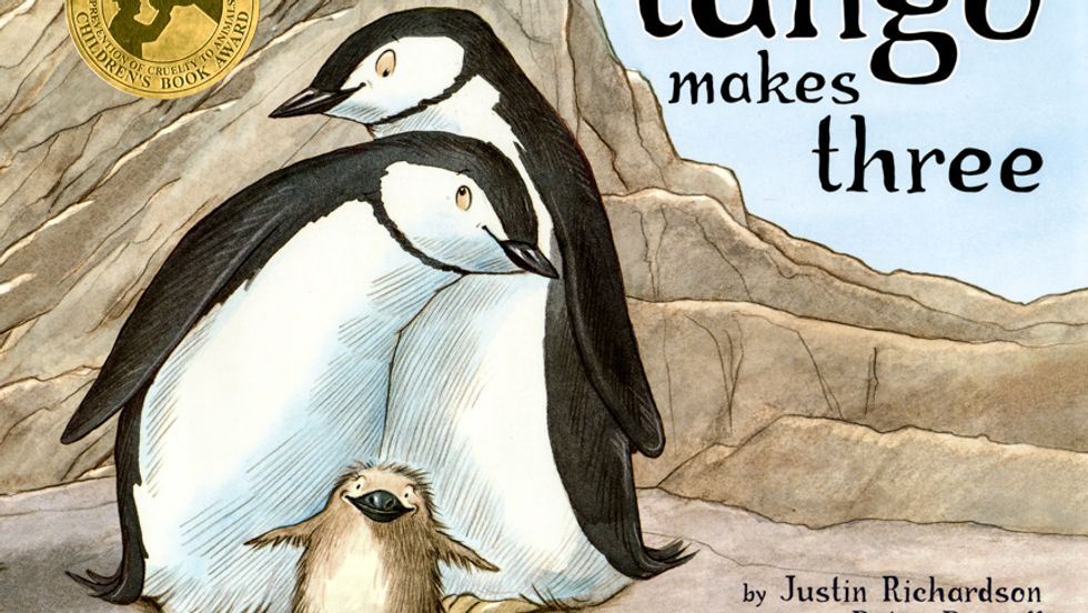 Gay penguins children's story tops list of most censored books in US school libraries