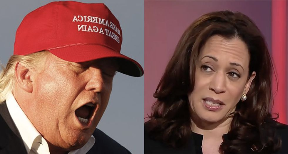 Baffled Trump has no idea how to deal with surging Kamala Harris: White House correspondent