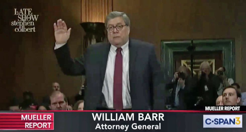 Bill Barr called dangling pardons to Mike Flynn a crime during his confirmation hearing