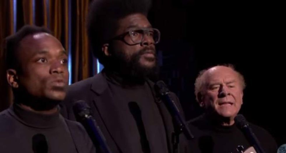 WATCH: 'Black Simon and Garfunkel' meets the real Art Garfunkel and it's awesome