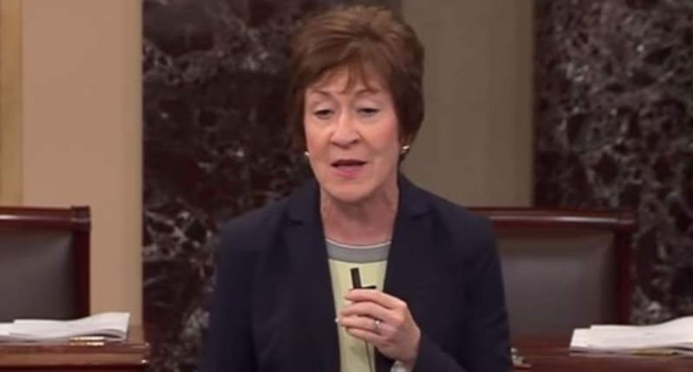 GOP Sen. Susan Collins dumps Trump for being 'incapable of apologizing' to Khans