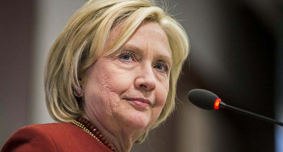 Hillary Clinton surprises with early attack on CEO pay