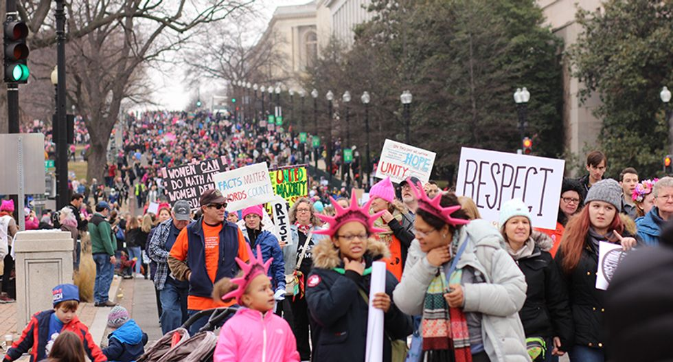 The demographics of the #resistance