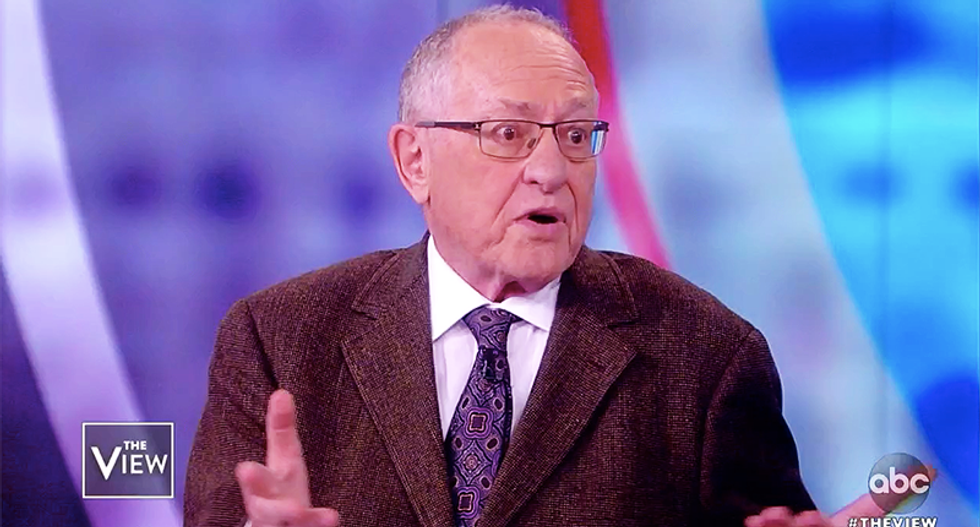 Alan Dershowitz files complaint against Yale psychiatrist who accused Trump supporters of 'shared psychosis'